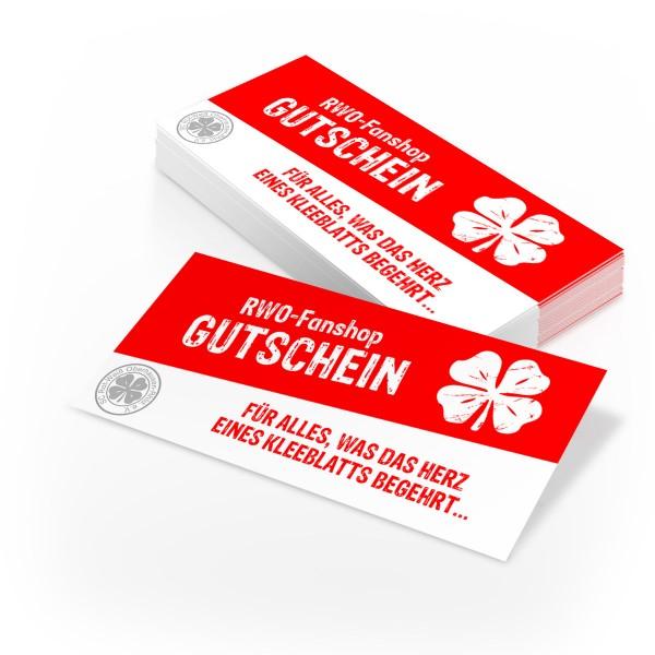 Gutschein RWO Fan-Shop